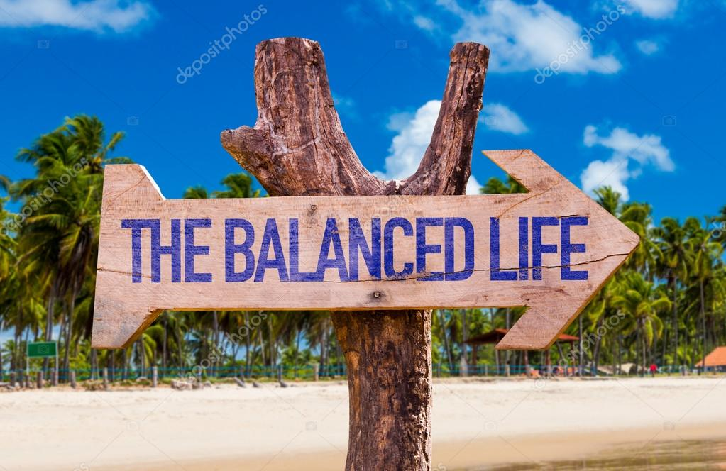 The Balance Life arrow