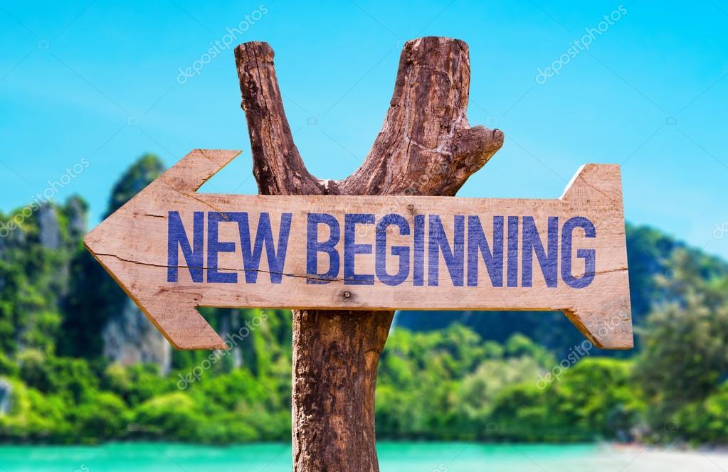New Beginning arrow