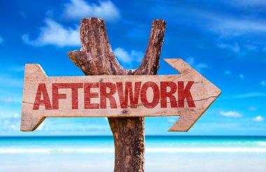 Afterwork wooden arrow