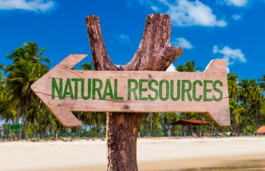 Natural Resources arrow
