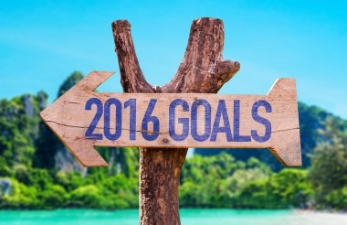 2016 Goals arrow