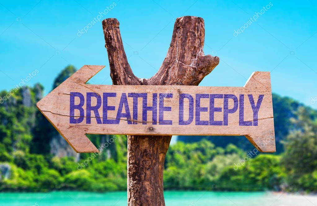 Breathe Deeply arrow