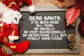 Tabule s vánoční vtipný text