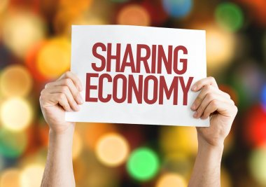 Sharing Economy placard