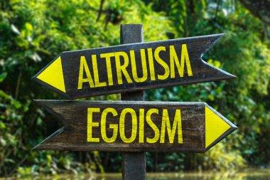 Altruism - Egoism signpost