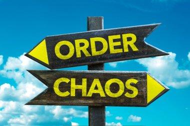 Order - Chaos signpost