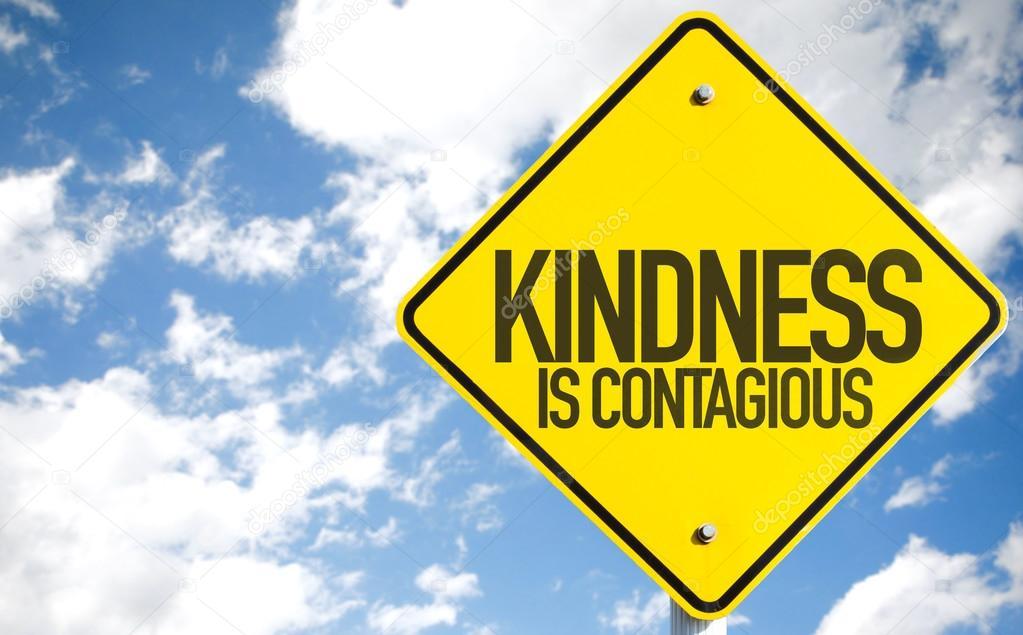Resultado de imagem para a bondade é contagiosa