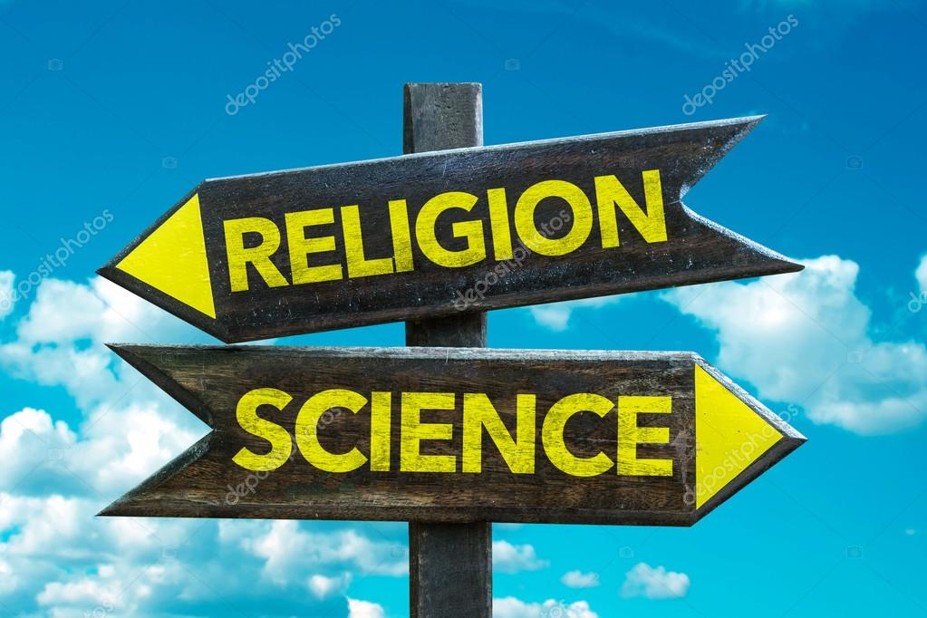 Religion - Science signpost