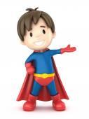Fotografie Superhelden-junge