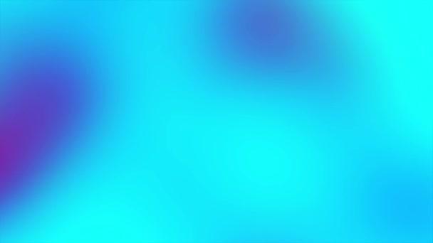 Holografikus neon animáció kék folyadék hatása. Absztrakt színes háttér.
