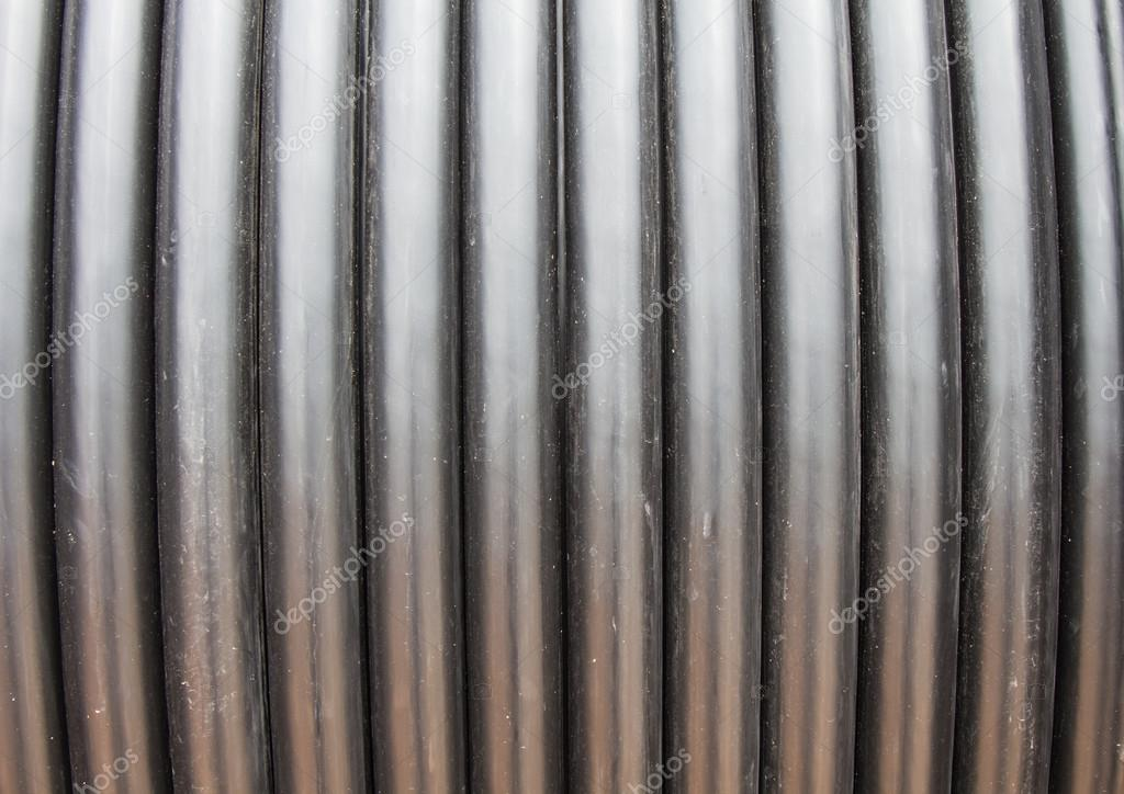 High voltage cable reel background