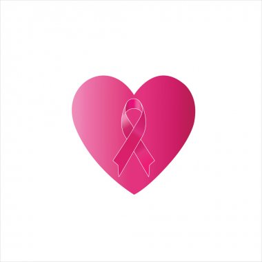 Breast cancer awareness or pink ribbon
