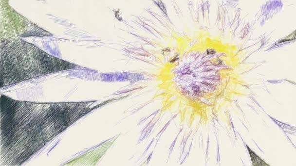 művészet rajz színe lótuszvirág
