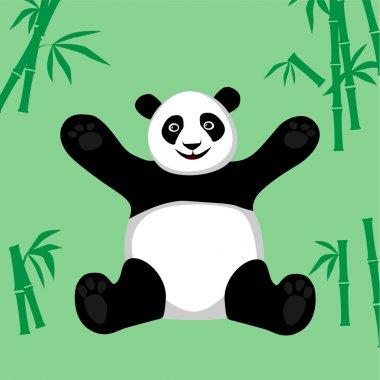 Sitting Panda.