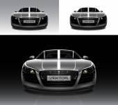 vektorové auto