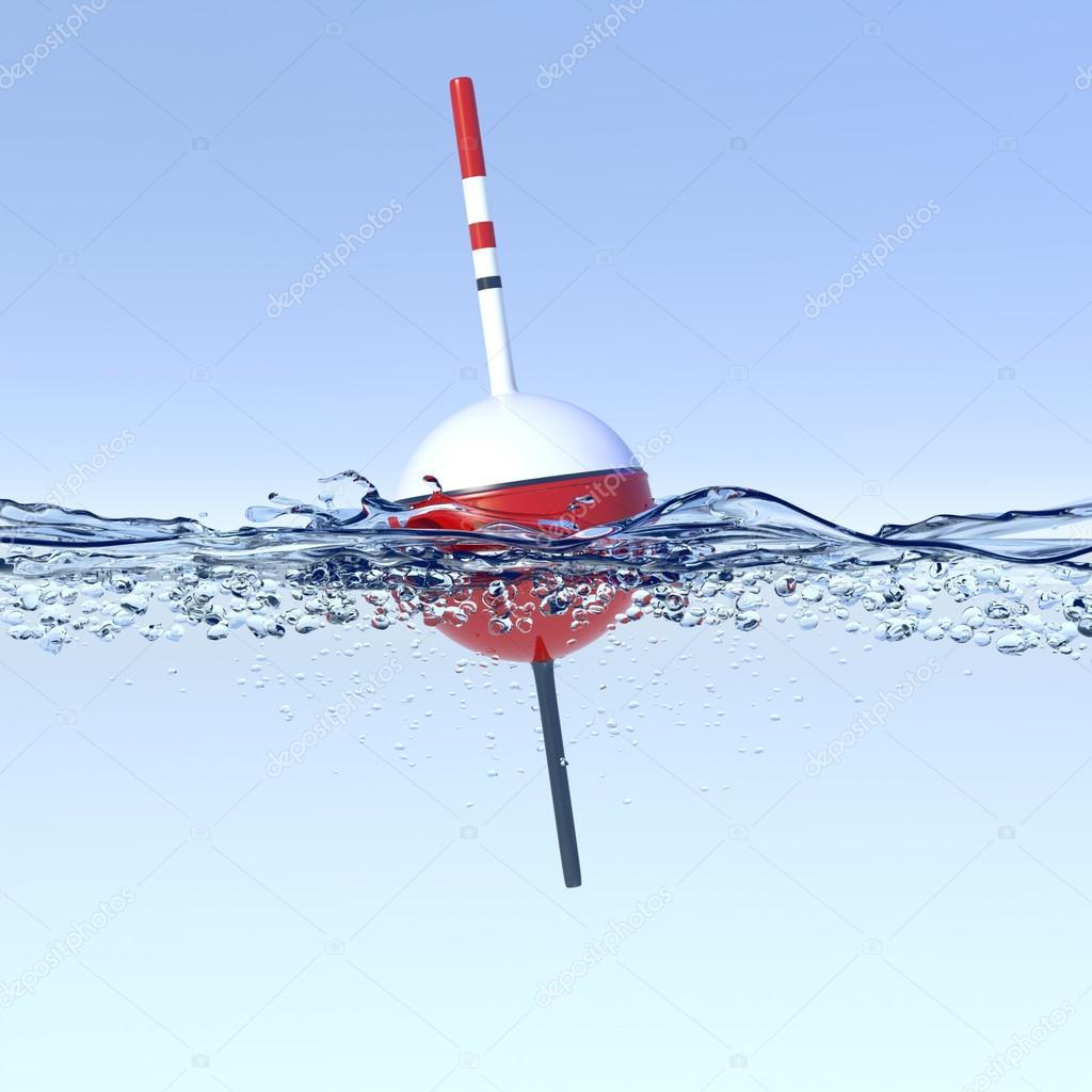 рисунки поплавок в воде