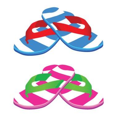 Flip flop vector illustration