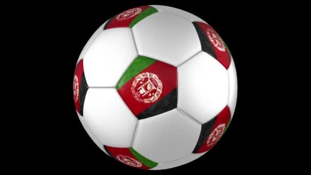 Afghanistans soccer ball rotation