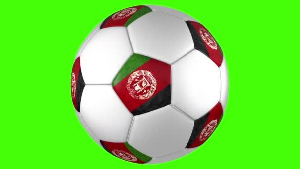 Afganisztán futball labda forgatás
