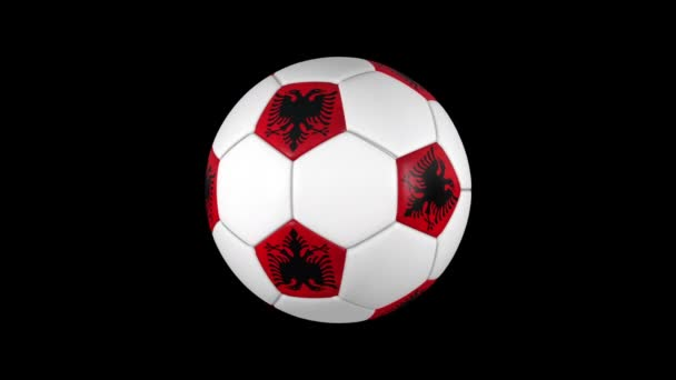 Albanian soccer ball rotation