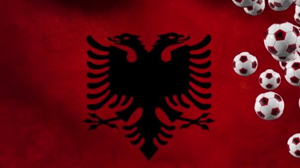 Albanian soccer balls flying