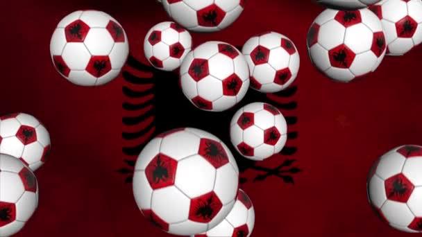 Albánské fotbalové míče