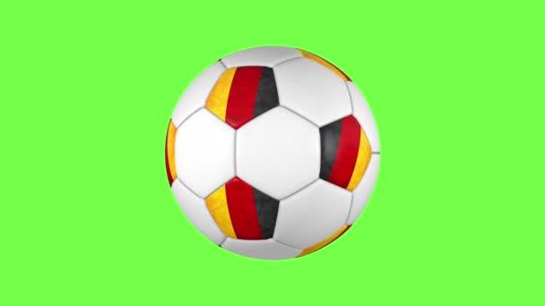 Német labda átmenetet a zöld Bg