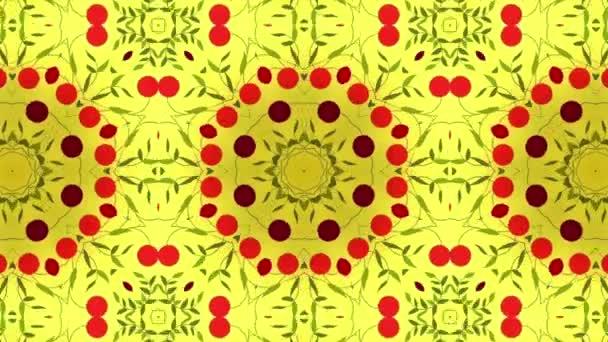 Geometriai cseresznye Kaleidoszkóp