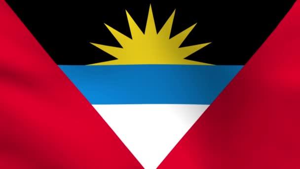 National flag of Antigua and Barbuda
