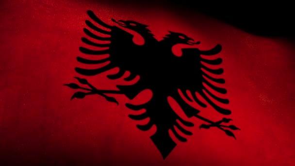 National flag of Albania