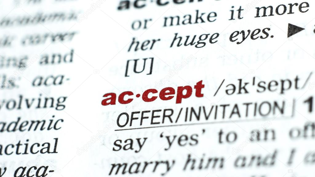 Word accept in dictionary stock photo alxbaevgmail 67083121 definition of word accept in dictionary photo by alxbaevgmail stopboris Choice Image