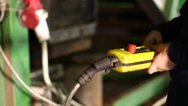 Industrial equipment in factory