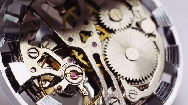 Vintage hodinky mechanismus