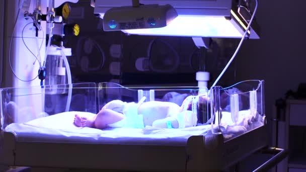 Ultrafialové světlo pro novorozeně