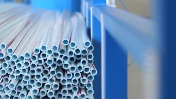 Produktionsprozess von Kunststoffrohren
