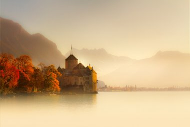 Castle on Lake Geneva