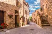 Fotografie Středověká ulice