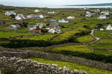 Stone walls in Ireland
