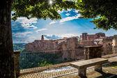 Fotografie toskánské vesnice