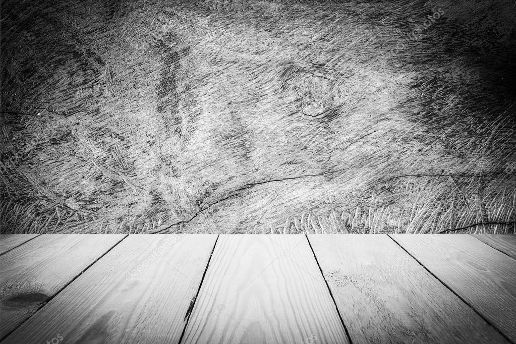 Legno Bianco E Nero : Struttura di legno bianco e nero per lo sfondo u foto stock