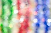 Fotografie abstrakte runden Bokeh Backround Prosit Neujahr oder Weihnachten