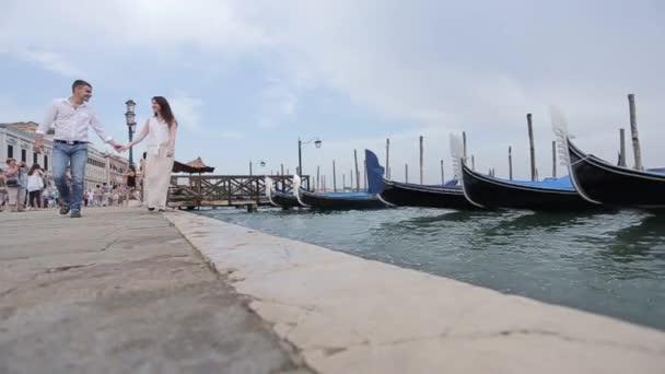 romantikus séta Velence