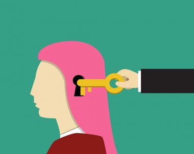 Girl and female psychology, Unlock and Read minds