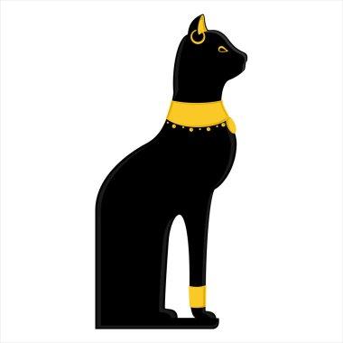Egyptian cat raster