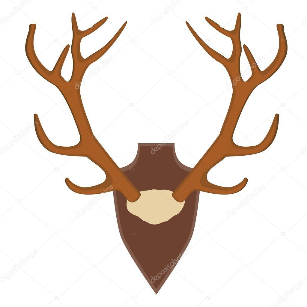 Trama de cuerno de ciervo — Fotos de Stock © viktorijareut #111581884