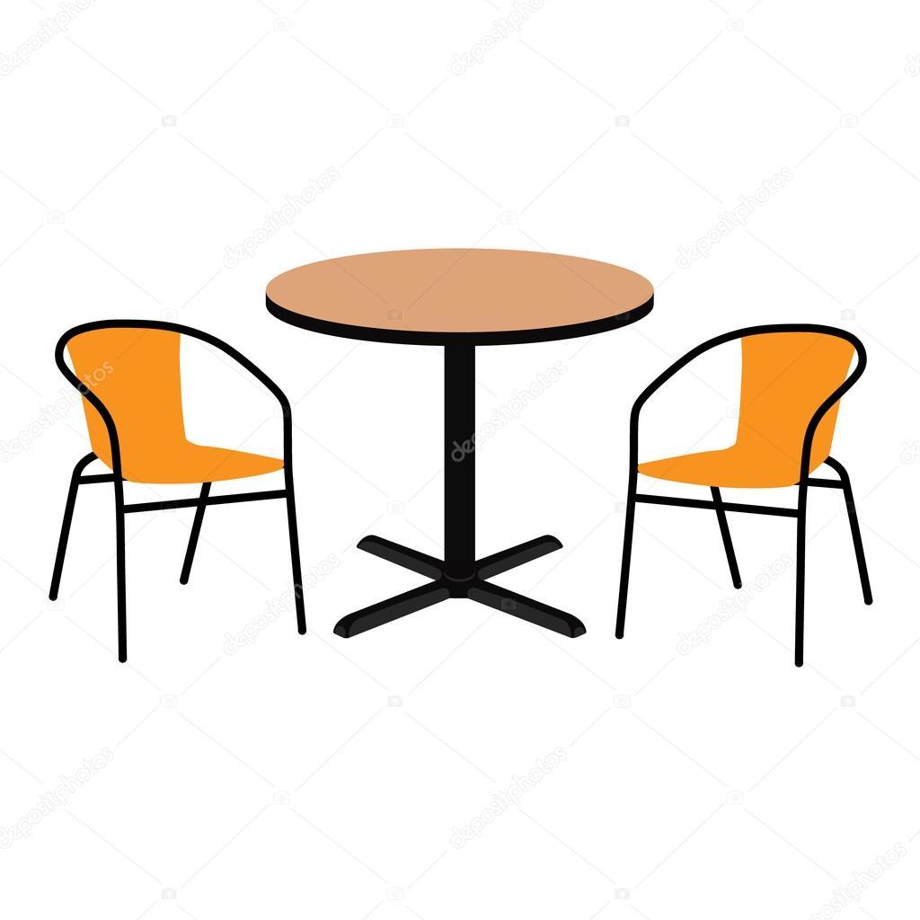 Tisch und Stühle — Stockfoto © viktorijareut #116876102