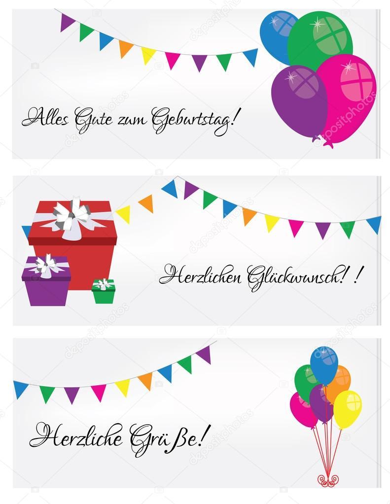 Joyeux Anniversaire Carte Postale Image Vectorielle Viktorijareut