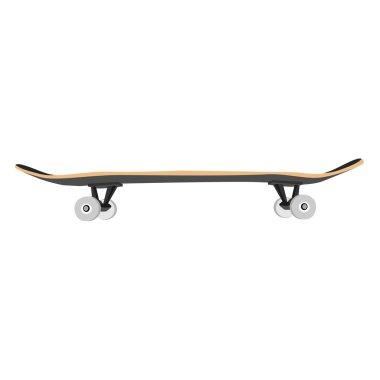 Illustration of skate, skateboard, skateboard vector, skateboard isolated stock vector