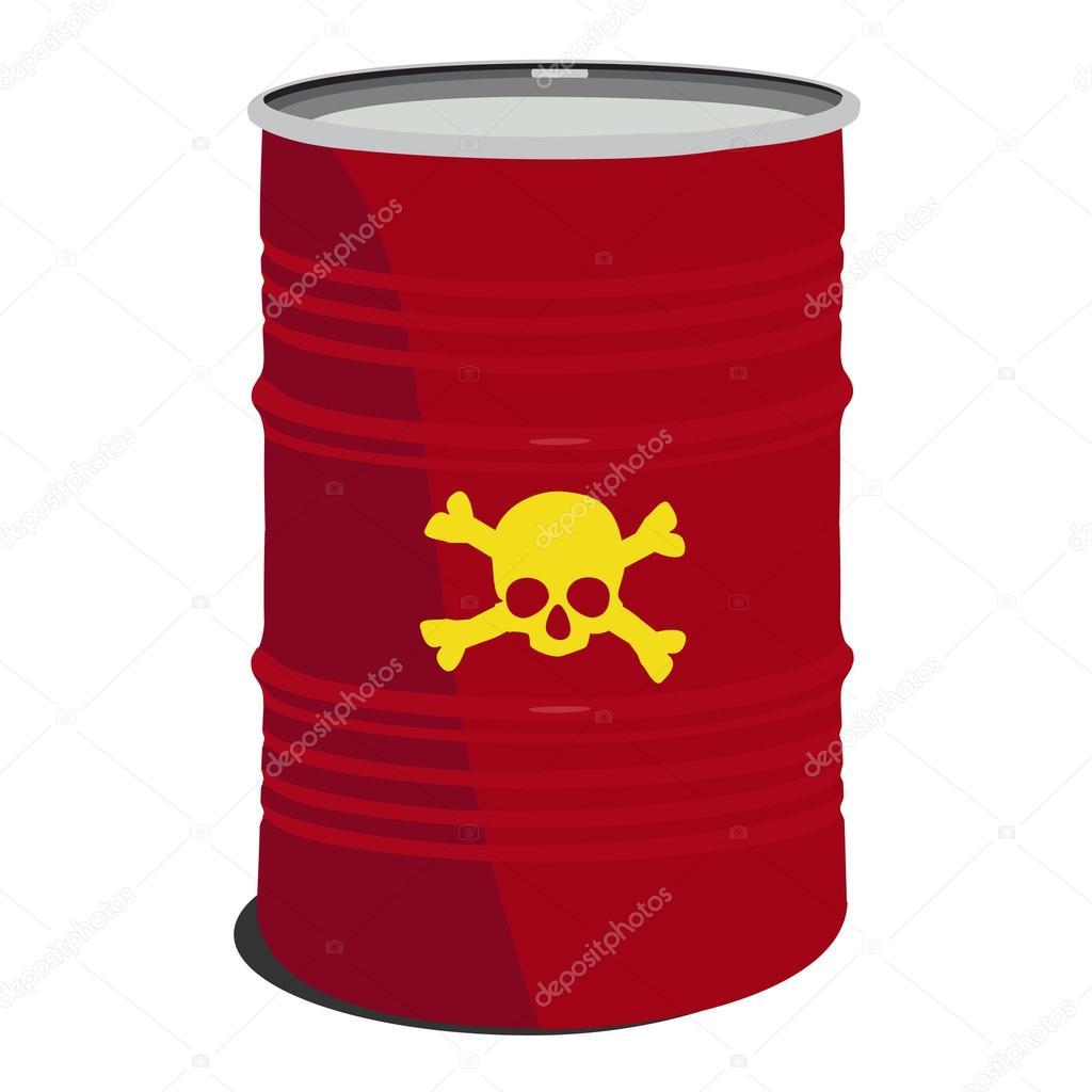 Red barrel toxic