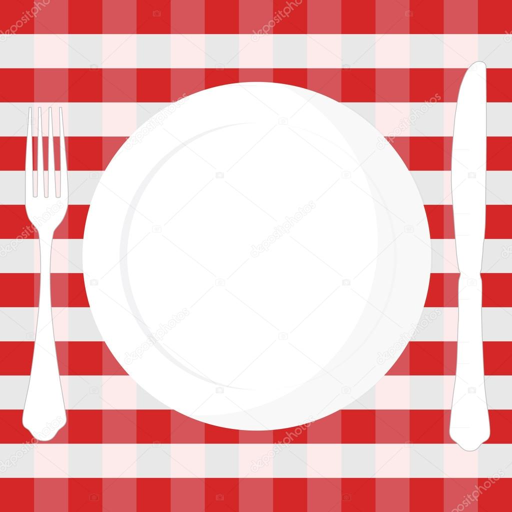Red And White Checked Table Cloth Red Checked Fabric